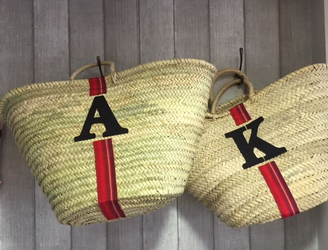 personalised french baskets @wrap