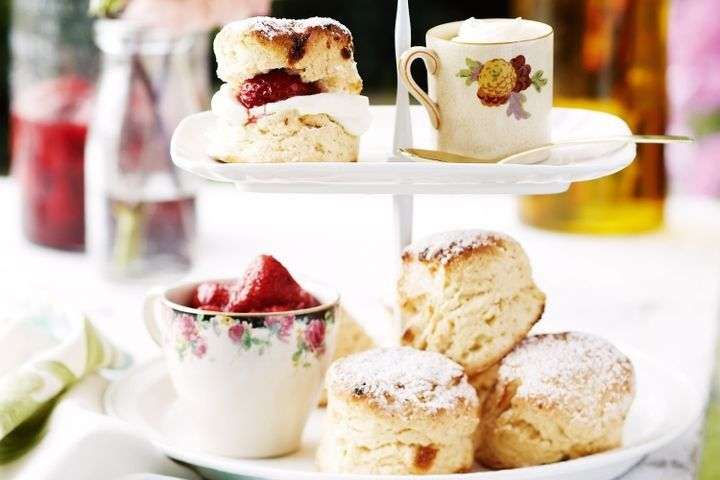 Whatever order you dollop your cream and spread your jam. one thing is for certain, there's nothing better than afternoon tea with scones, cake, pie and all sorts of sweet treats.