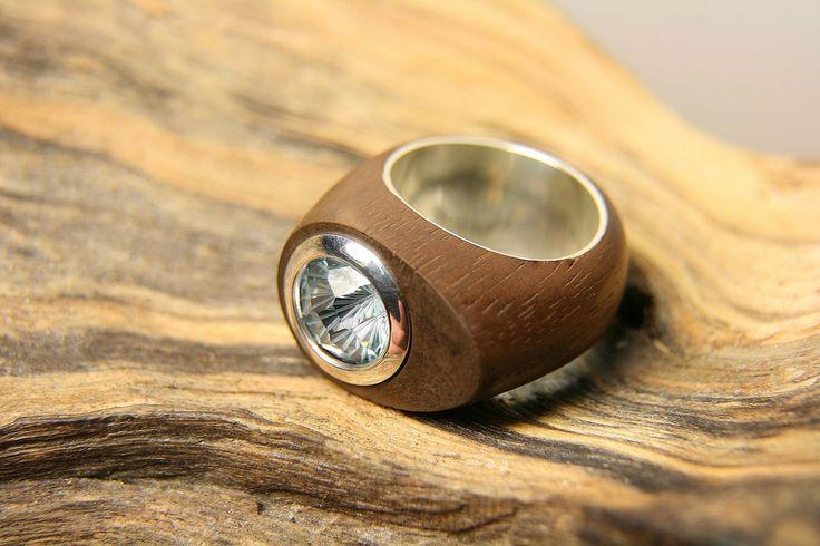Green Wood - Деревянные Кольца Wooden Ring Resin Ring Magic Ring