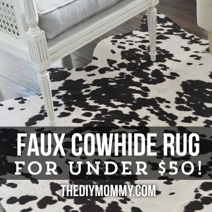 I really wanted a cowhide rug for our sitting room, but just couldn't afford a real one! I got to work with some faux cowhide fabric and created something that…