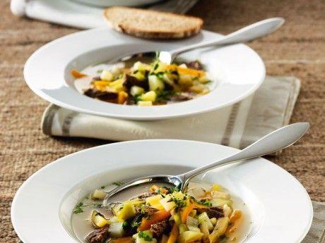 Kött- och grönsakssoppa