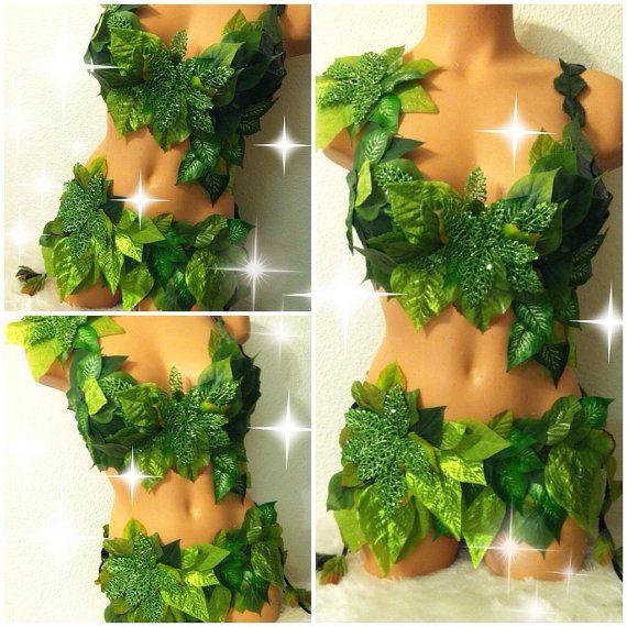 Poison Ivy Costume by TheLoveShackk on Etsy