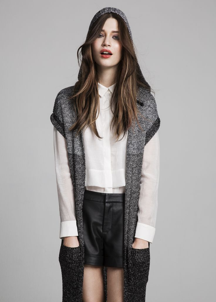 Camaxi cardigan, Baracuda blouse & Hollywood shorts #Camaxi #cardigan #Baracuda #blouse #Hollywood #shorts #AW14 #Lookbook #SuperTrash