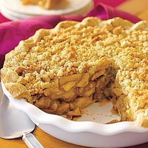 Crumb-Topped Apple Pie | MyRecipes.com