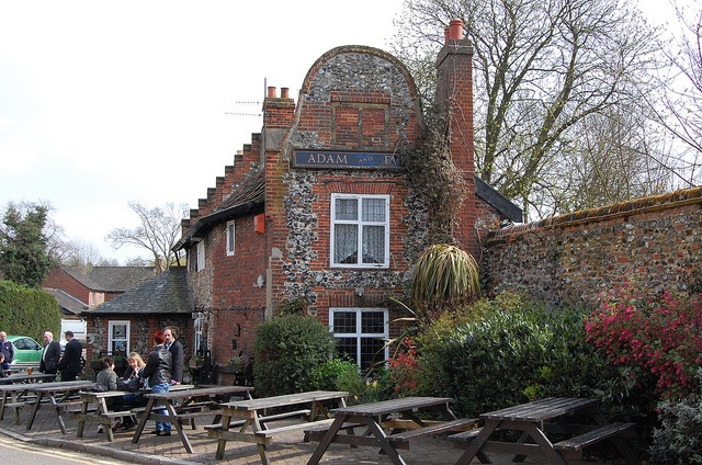 The Adam and Eve pub, Norwich, UK.  Built in 1249.  TWELVE-FORTY-NINE! Norwich is AWESOME.