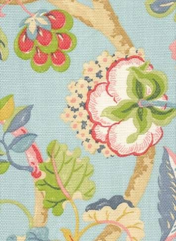 P. Kaufmann Fabric	Sea Breeze Blue Sky $26.95 per yard