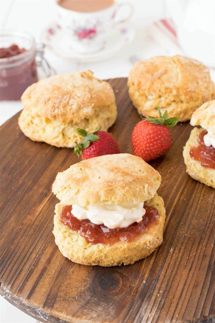 ... Scones on Pinterest | Strawberry scones, Drop scones and Chocolate