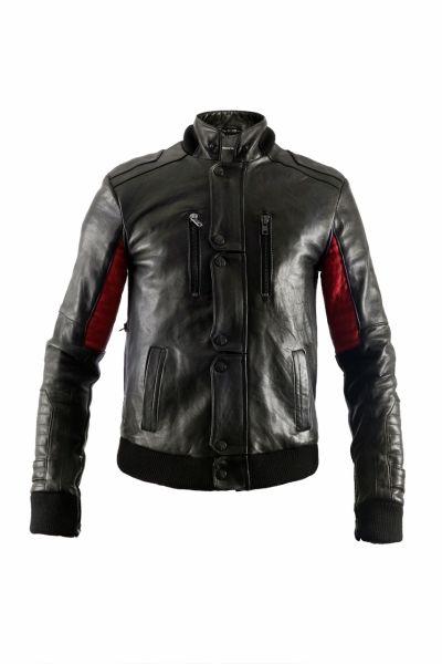 Kid Cudi leather