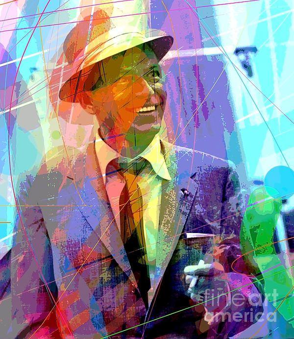 Frank Sinatra Painting Art: