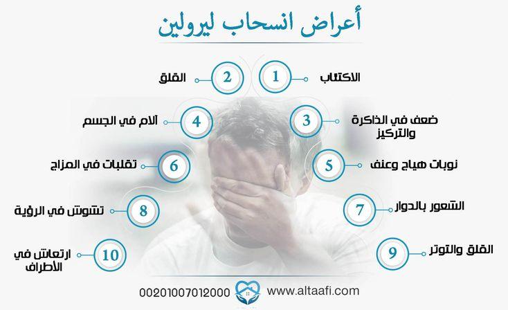 مدة أعراض انسحاب ليرولين والعوامل التي تقلل منها Pll