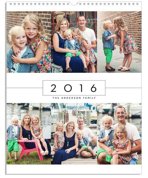 Calendars 2020-2016 Modern Grid 11x14 Wall Calendar – 2016 2020 | Pix / Grad idea