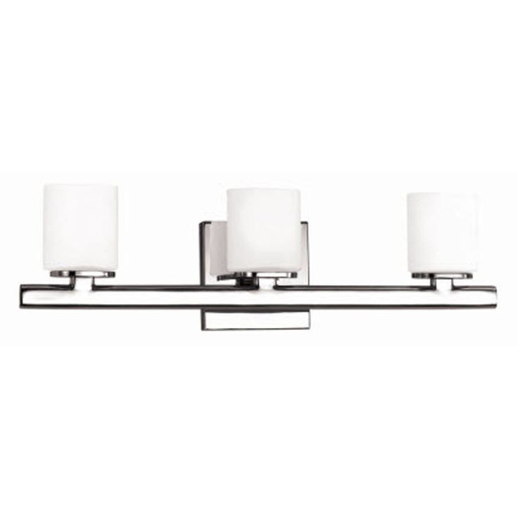 Vanity Light With Outlet Lowes : Shop Style Selections 3-Light Marond Chrome Bathroom Vanity Light at Lowes.com For the Home ...