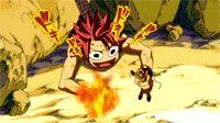 Un passage qui me fait mourrir de rire dans Fairy Tail ! Où Natsu et Happy utilisent la poupée maudite pour faire une méga attaque avec Lucy ! xD