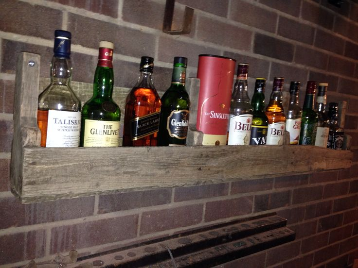 Wood Pallet Bar Diy