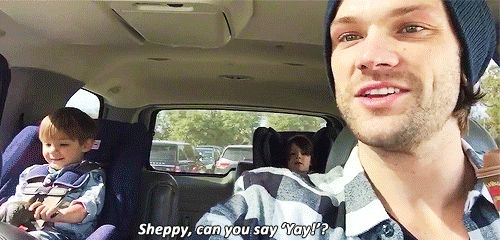 """""""And my favorite part of coming back home to Austin is getting to see the kiddos faces when I pick 'em up from school."""""""