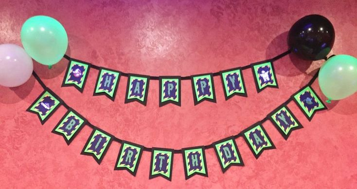 Ghostbusters Birthday banner/ Happy Birthday/ party supplies/ Decor #ALLOCCASSIONS