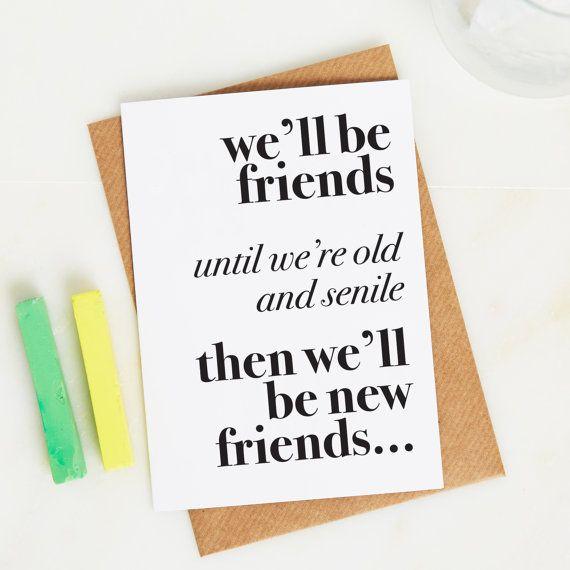 Friend Gift Best Funny SHIPS FAST Keepsake Box