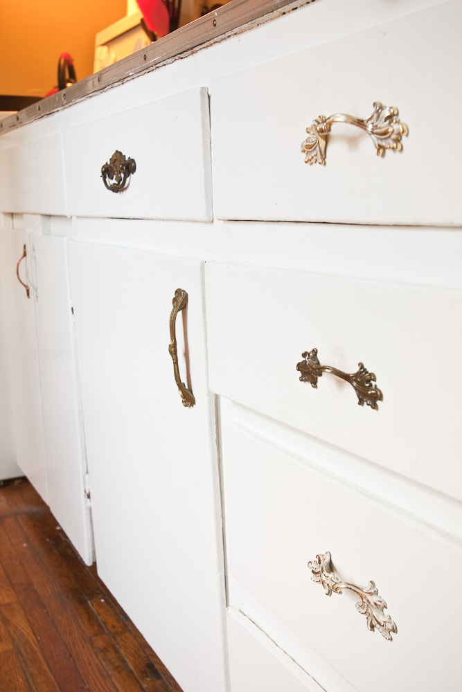 The Nest. A One Bedroom Apartment Redesign In Halifax, Ns. Mix And Match  Vintage Drawer U0026 Cabinet Hardware.