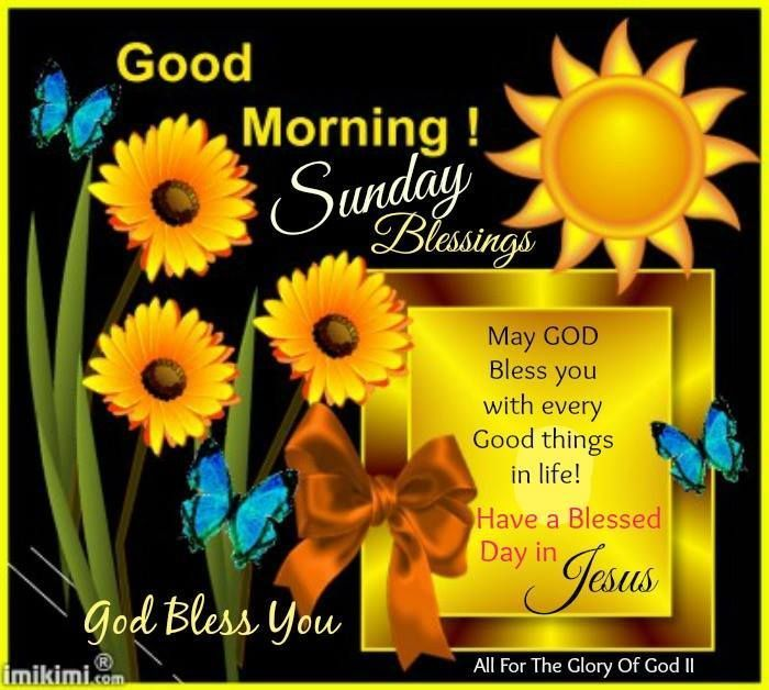 Sunday+Morning+Blessings | Good Morning Sunday Blessings