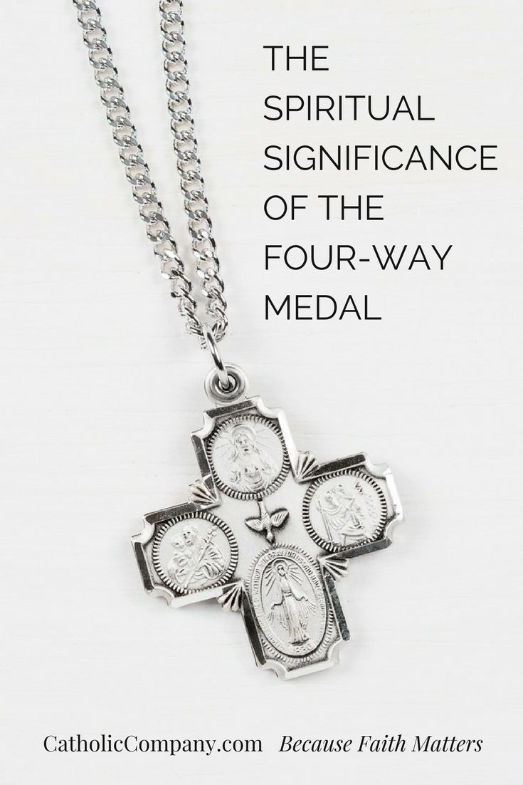 The Spiritual Significance of the Four-Way Medal | Get Fed | A Catholic Blog to Feed Your Faith