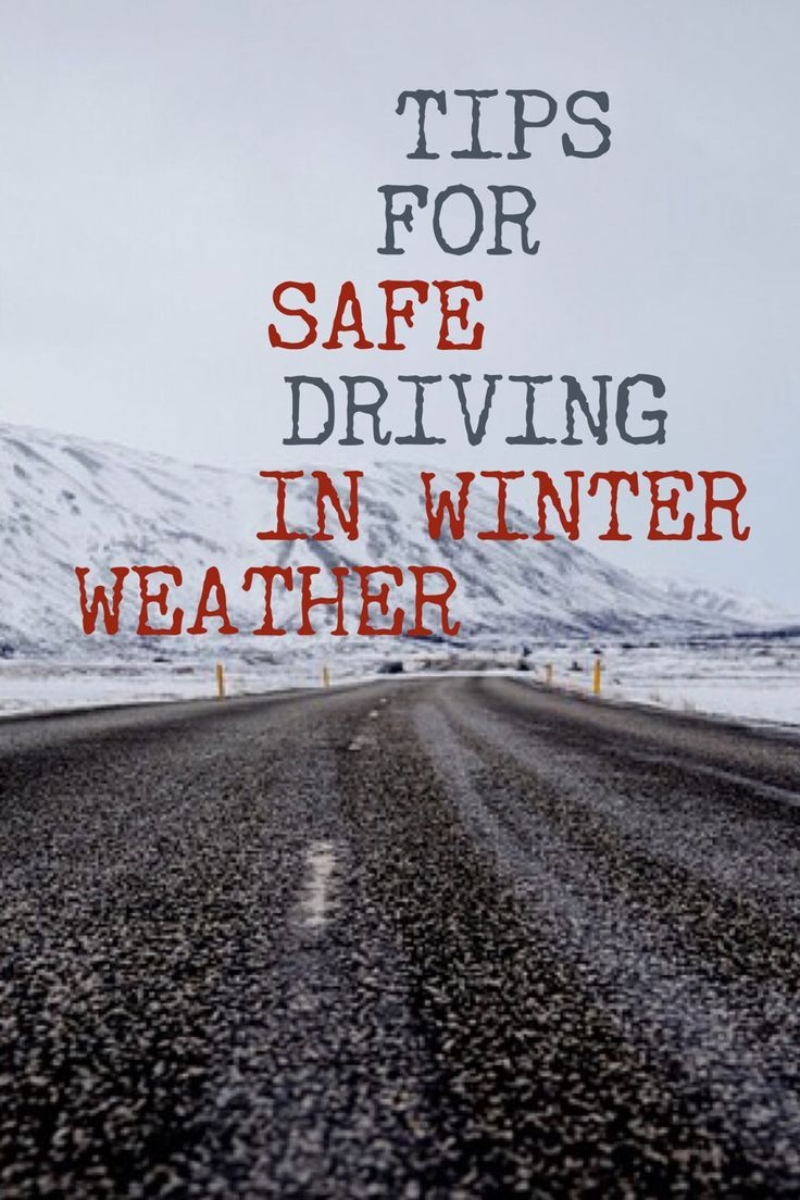 Tips For Safe Driving On Snow And Ice Edmunds Autos Post