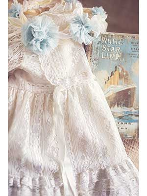 #tailor #girls #couture #baby #christening #lace #dress @teticharitou