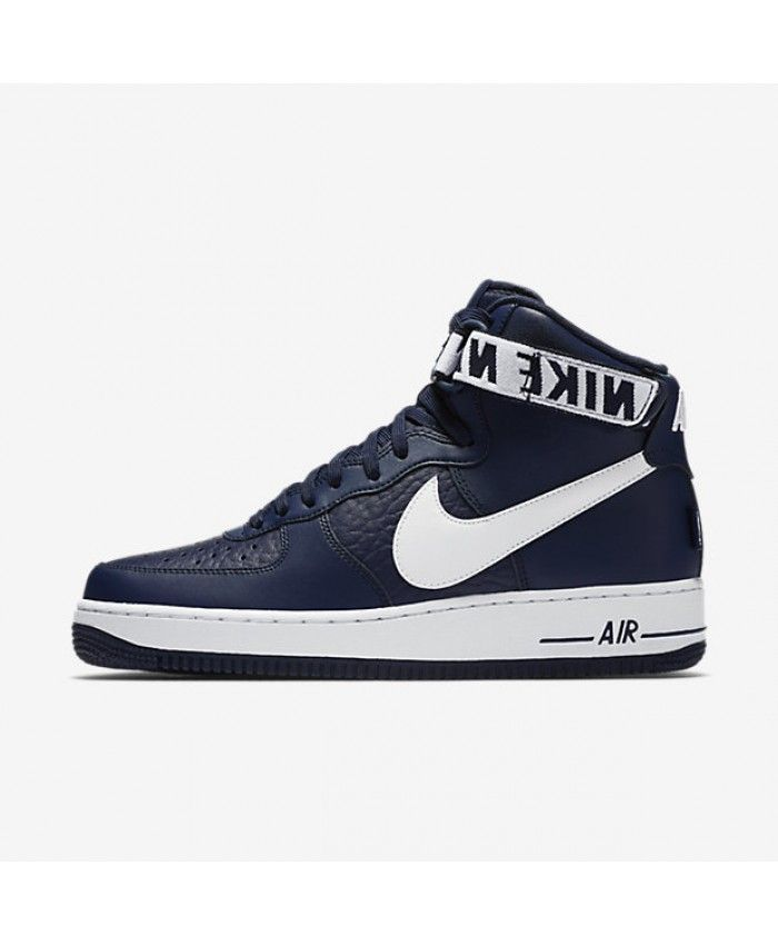 new arrival ab132 10de3 Nike Air Force 1 High 07 NBA College Navy White 315121-414