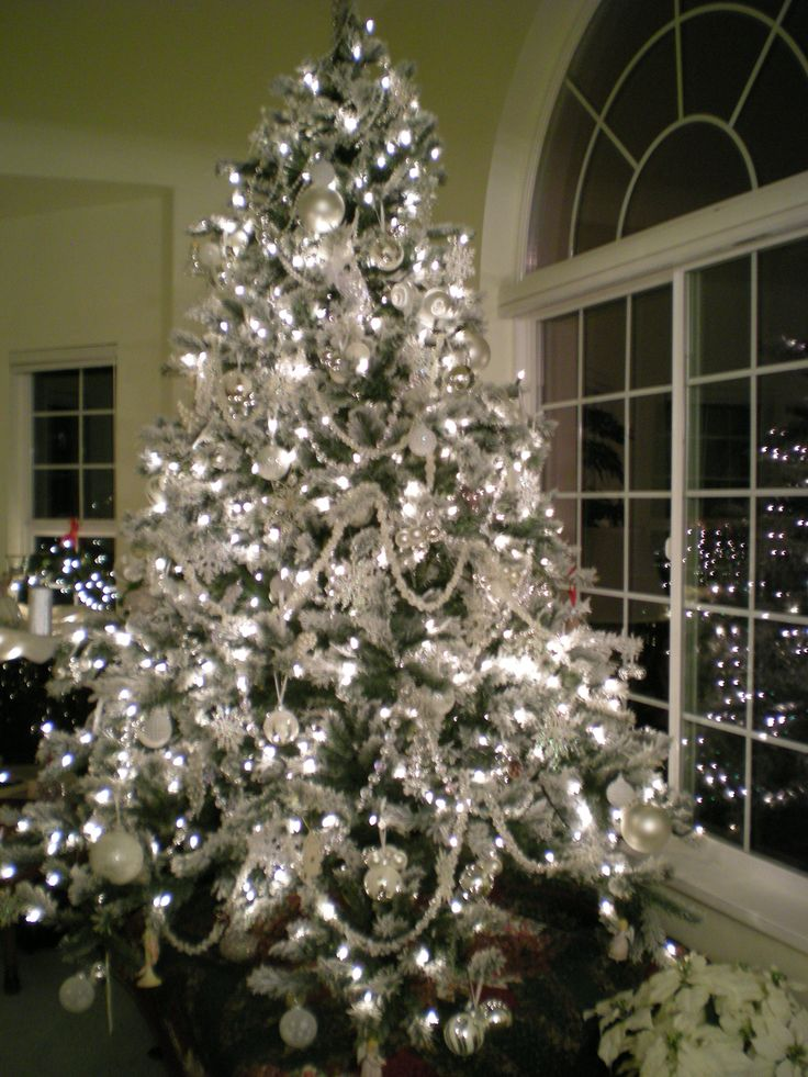 silver christmas tree best 25 white trees ideas on white 11586
