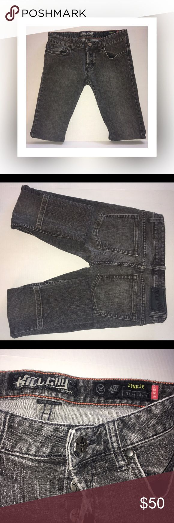 Kill City Junkie Jeans Great condition! ✨ Junkie Fit! ✨ Kill City! ✨ Size: 29! ✨ Kill City Jeans