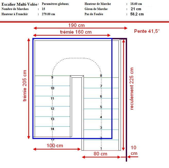 Calculer Un Escalier Avec Palier 28 Images Escalier Avec Palier