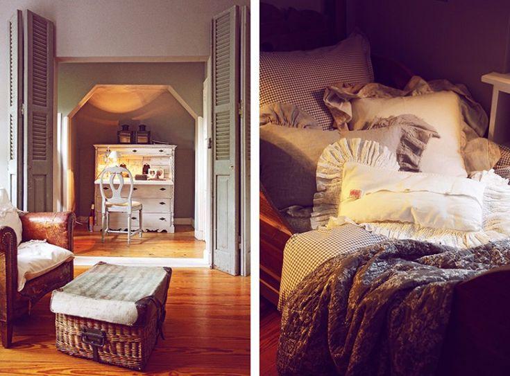 Wintergarten deko ~ Vintage shabby chic wintergarten deko antik interior wohnen bett