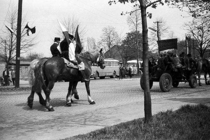 Chrzanów, Poland 1966 - 1st May Parade