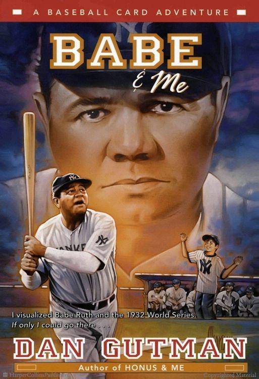 Babe & Me  A Baseball Card Adventure  by Dan Gutman. 2004 Winner