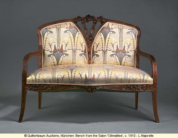 680 best art nouveau furniture furnishings images on pinterest art nouveau furniture art. Black Bedroom Furniture Sets. Home Design Ideas