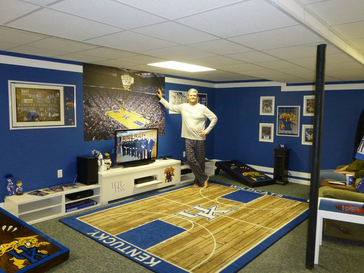 Man Cave Designs Uk : Best images about kentucky wildcats mancave ideas on