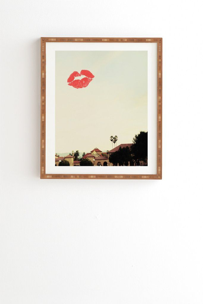 Chelsea Victoria From California With Love Framed Wall Art | Deny Designs Home Accessories