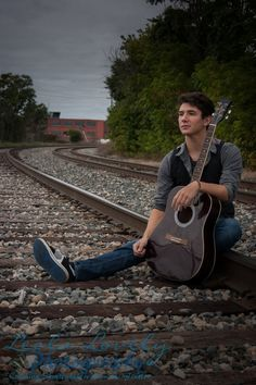 senior photos for boys with guitar - Google Search