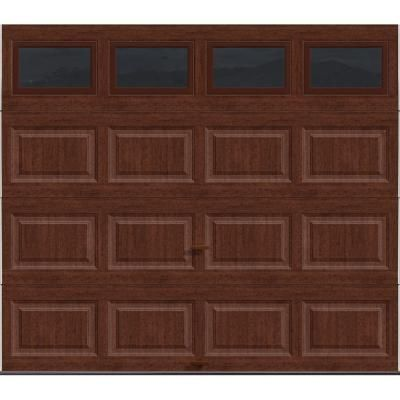 Clopay premium series 8 ft x 7 ft intellicore insulated for 12 x 12 insulated garage door