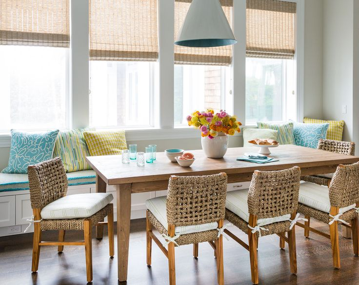 Kitchen And Breakfast Room Design Ideas Adorable 139 Best Breakfast Nook Images On Pinterest  Dining Rooms Dinner Design Ideas