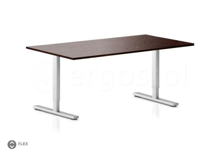 Компьютерный стол Ergostol Flex на двух ножках электро-регулируемый