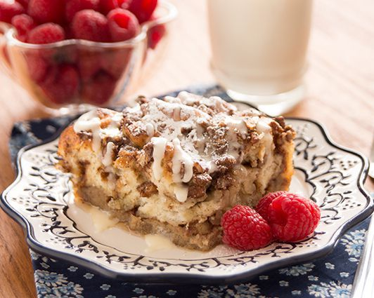 Cinnamon French Toast Bake Cinnamon Roll French Toast Bake Recipe and Photo Courtesy Rhodes