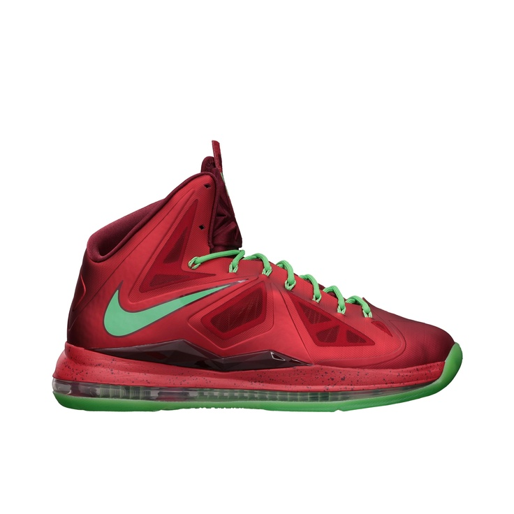 Nike Lebron X - Men's - Basketball - Shoes - University Red/Tourmaline/Team  Red