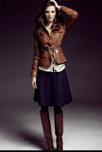 Massimo Dutti, I love how elongated it makes her look