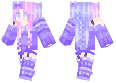 Lila skin for Minecraft PE - http://minecraftpedownload.com/lila/