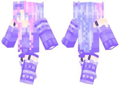 Lila skin for Minecraft PE - http://minecraftpedownload.com/lila/