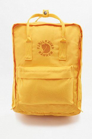 Fjallraven Re-Kanken Sunflower Yellow Backpack