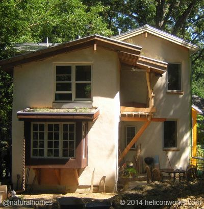 this is architect bill hutchins straw bale home in takoma park rh pinterest com