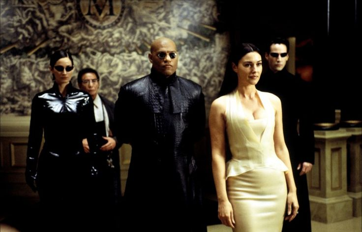 Queen of Club Hell in the movie Matrix Reloaded and the Matrix Revolutions was played by the astonishingly hot Italian beauty Monica Bellucci.