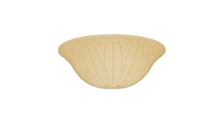 Casablanca 99063 Toffee Tropical Leaf Glass Bowl for 99023 Toffee Ceiling Fan Accessories Light Kit Accessories Shades