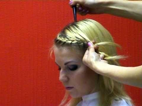 Прически с плетением: как сделать прически с плетением волос фото, видео